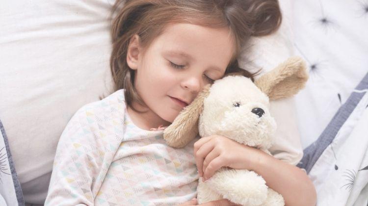 ילדה חולמת על כלב